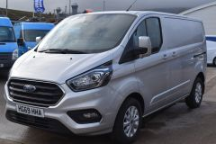 FORD TRANSIT CUSTOM 300 LIMITED  ECOBLUE EURO 6 SILVER VAN  - 2830 - 1