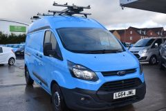 FORD TRANSIT CUSTOM 330 LWB L2 H2 BRITISH GAS BLUE VAN  - 2590 - 8