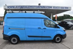 FORD TRANSIT CUSTOM 330 L2 H2 LWB HIGH ROOF GAS CUSTOM TWIN SIDE DOORS VAN - 2505 - 5