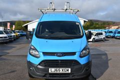 FORD TRANSIT CUSTOM 330 L2 H2 LWB HIGH ROOF VAN BRITISH GAS BLUE VAN - 2585 - 10