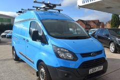 FORD TRANSIT CUSTOM 330 L2 H2 LWB GAS VAN TWIN SIDE DOORS - 2509 - 8