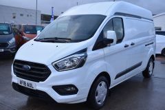 FORD TRANSIT CUSTOM 340  170 BHP TREND L2 H2 LWB HIGH ROOF AIR CON VAN EURO 6 - 2173 - 1
