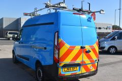 FORD TRANSIT CUSTOM 330 L2 H2 LWB HIGH ROOF GAS VAN TWIN SIDE DOORS - 2522 - 4