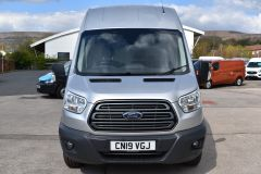 FORD TRANSIT 350 L3 H3 170 BHP LWB HIGH ROOF AIR CON REVERSE CAMERA EURO 6 SILVER VAN  - 2959 - 13