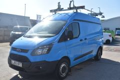 FORD TRANSIT CUSTOM 330 L2 H2 LWB HIGH ROOF GAS VAN TWIN SIDE DOORS - 2522 - 1
