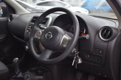 NISSAN MICRA VIBE 1.2 PETROL AIR CON BLUETOOTH SILVER CAR - 2800 - 3