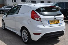 FORD FIESTA SPORT CAR DERIVED VAN WITH SAT NAV CRUISE AND AIR CON - 2294 - 4