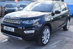 LAND ROVER DISCOVERY SPORT TD4 HSE LUXURY METALLIC BLACK 7 SEATER FAMILY CAR - 2367 - 1