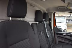 FORD TRANSIT CUSTOM 300 LIMITED 170 BHP L2 LWB TWIN SIDE DOORS NAV ORANGE VAN  ECOBLUE - 2875 - 16