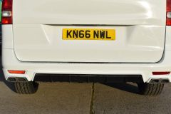MERCEDES VITO 111 SPORT WIDE ARCH KIT STYLE WHITE VAN TAIL GATE LOW MILES VAN RARE - 2180 - 10