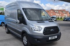 FORD TRANSIT 350 L3 H3 170 BHP LWB HIGH ROOF AIR CON REVERSE CAMERA EURO 6 SILVER VAN  - 2959 - 8