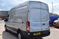 FORD TRANSIT 350 L3 H3 170 BHP LWB HIGH ROOF AIR CON REVERSE CAMERA EURO 6 SILVER VAN  - 2959 - 5