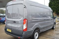 FORD TRANSIT 350 L3 H2 LUNAR SKY GREY LWB EURO 6 SIDE WINDOW VAN IDEAL CAMPER CONVERSION - 2157 - 5