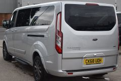 FORD TOURNEO CUSTOM 310 TITANIUM 170 BHP MINIBUS 9 SEATER LWB L2 LEATHER NAV REVERSE CAM - 2228 - 6