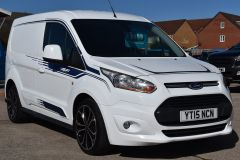FORD TRANSIT CONNECT 200 LIMITED MS RT DECALS STYLED NO VAT VAN - 2221 - 7