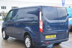 FORD TRANSIT CUSTOM 280 LIMITED AUTOMATIC ECOBLUE EURO 6 BLUE VAN  - 2831 - 4