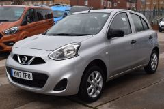 NISSAN MICRA VIBE 1.2 PETROL AIR CON BLUETOOTH SILVER CAR - 2800 - 1