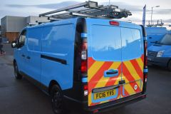 VAUXHALL VIVARO 2900 L2 H1 LWB BRITISH GASBLUE VAN TWIN SIDE DOORS SHELVING - 2764 - 5