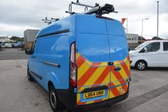 FORD TRANSIT CUSTOM 330 L2 H2 LWB HIGH ROOF GAS CUSTOM TWIN SIDE DOORS VAN - 2505 - 6