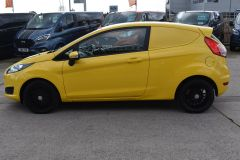 FORD FIESTA USED FIESTA YELLOW VAN ECONETIC TDCI 95 PS WITH AIR CON AND NO VAT TO PAY - 2184 - 8