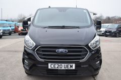 FORD TRANSIT CUSTOM 340 LIMITED 170 BHP BLACK LWB L2 TWIN SIDE DOORS NAV  ECOBLUE - 2879 - 14