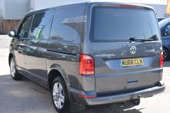 VOLKSWAGEN TRANSPORTER AUTOMATIC DSG T32 T6 204 BHP 4MOTION 4X4 HIGHLINE GREY VAN WITH DIFF LOCK SAT NAV HEATED SEATS - 2248 - 5