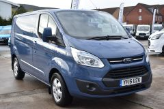 FORD TRANSIT CUSTOM 270 LIMITED METALLIC BLUE RARE COLOUR VAN LOW MILES - 1952 - 6