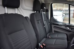 FORD TRANSIT CUSTOM 340 LIMITED 170 BHP BLACK LWB L2 TWIN SIDE DOORS NAV  ECOBLUE - 2879 - 9