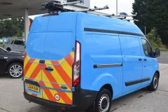 FORD TRANSIT CUSTOM 330 L2 H2 LWB HIGH ROOF GAS CUSTOM TWIN SIDE DOORS VAN - 2505 - 4