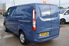 FORD TRANSIT CUSTOM 270 LIMITED METALLIC BLUE RARE COLOUR VAN LOW MILES - 1952 - 3