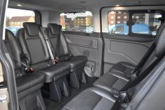FORD TOURNEO CUSTOM 320 SPORT ECOBLUE DIFFUSED SILVER RARE NO VAT 8 SEATER AUTOMATIC 185 BHP  - 2843 - 10