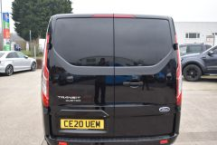 FORD TRANSIT CUSTOM 340 LIMITED 170 BHP BLACK LWB L2 TWIN SIDE DOORS NAV  ECOBLUE - 2879 - 15