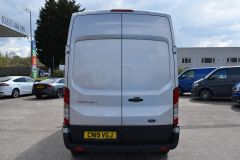 FORD TRANSIT 350 L3 H3 170 BHP LWB HIGH ROOF AIR CON REVERSE CAMERA EURO 6 SILVER VAN  - 2959 - 14