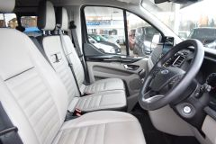 FORD TOURNEO CUSTOM 310 TITANIUM 170 BHP MINIBUS 9 SEATER LWB L2 LEATHER NAV REVERSE CAM - 2228 - 2