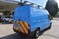 FORD TRANSIT 350 RARE BRITISH GAS 4X4 AWD BLUE VAN SHELVING AIR CON  - 2435 - 5