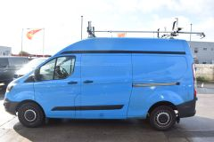 FORD TRANSIT CUSTOM 330 L2 H2 LWB HIGH ROOF VAN BRITISH GAS BLUE VAN - 2585 - 5