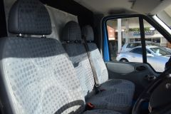 FORD TRANSIT 350 RARE BRITISH GAS 4X4 AWD BLUE VAN SHELVING AIR CON  - 2435 - 9