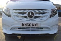MERCEDES VITO 111 SPORT WIDE ARCH KIT STYLE WHITE VAN TAIL GATE LOW MILES VAN RARE - 2180 - 8