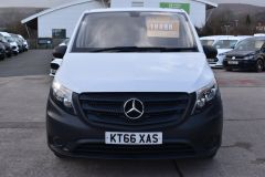 MERCEDES VITO 111 lONG PANEL VAN TWIN SIDE DOORS TAIL GATE  - 2231 - 14