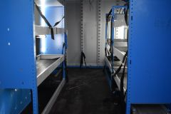 VAUXHALL VIVARO 2900 L2 H1 LWB BRITISH GASBLUE VAN TWIN SIDE DOORS SHELVING - 2764 - 3
