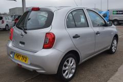 NISSAN MICRA VIBE 1.2 PETROL AIR CON BLUETOOTH SILVER CAR - 2800 - 6