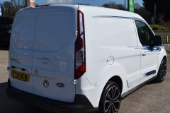 FORD TRANSIT CONNECT 200 LIMITED MS RT DECALS STYLED NO VAT VAN - 2221 - 5