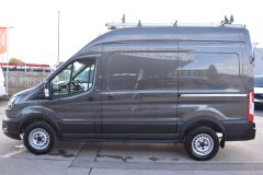 FORD TRANSIT 350 LEADER L2 H3 MWB HIGH ROOF GREY RARE VAN SHELVING LADDER RACK ECOBLUE EURO 6 - 2620 - 4