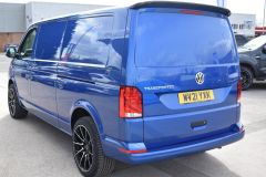 VOLKSWAGEN TRANSPORTER T30 T6.1 2021 LWB 150 BHP BLUE IDEAL CAMPER SPORTLINE STYLED HIGHLINE NOT T5 T6 - 2929 - 4