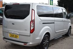 FORD TOURNEO CUSTOM 310 TITANIUM 170 BHP MINIBUS 9 SEATER LWB L2 LEATHER NAV REVERSE CAM - 2228 - 7