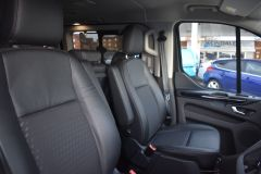 FORD TOURNEO CUSTOM 320 SPORT ECOBLUE DIFFUSED SILVER RARE NO VAT 8 SEATER AUTOMATIC 185 BHP  - 2843 - 17