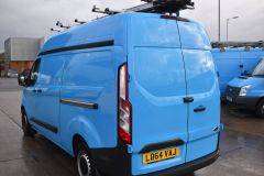 FORD TRANSIT CUSTOM 330 L2 H2 LWB HIGH ROOF TWIN SIDE DOOR AIR CON SHELVING VAN - 2770 - 5