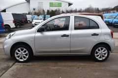 NISSAN MICRA VIBE 1.2 PETROL AIR CON BLUETOOTH SILVER CAR - 2800 - 4