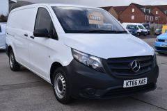 MERCEDES VITO 111 lONG PANEL VAN TWIN SIDE DOORS TAIL GATE  - 2231 - 8