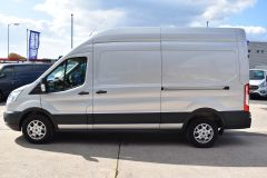 FORD TRANSIT 350 L3 H3 170 BHP LWB HIGH ROOF AIR CON REVERSE CAMERA EURO 6 SILVER VAN  - 2959 - 4